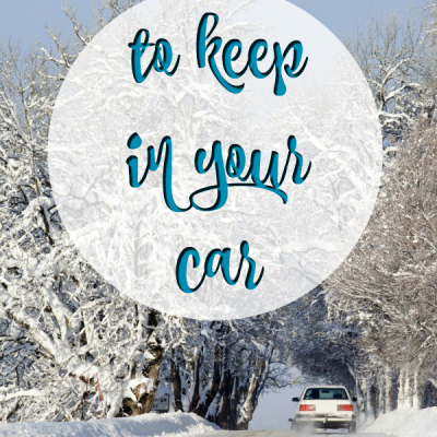 Winter Essentials to Keep in Your Car