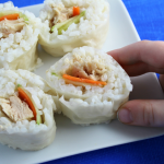 Kid-Approved Tuna Sushi