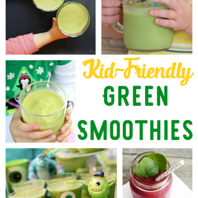 Kid-Approved Green Smoothies
