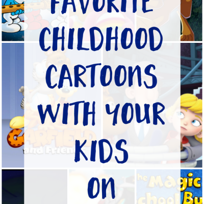 Watch your Favorite Childhood Cartoons with your Kids on Netflix