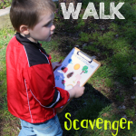 Nature Walk Scavenger Hunt