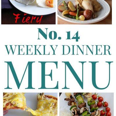 Weekly Dinner Menu #14