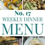 Weekly Dinner Menu #18