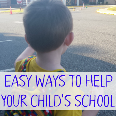 Easy Ways to Help Out Your Child's School