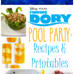 Finding Dory Pool Party: Recipes & Printables