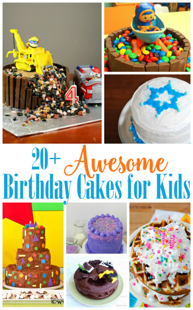 Terrific Awesome Birthday Cakes For Kids The Shirley Journey Birthday Cards Printable Trancafe Filternl
