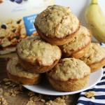 Cereal Banana Muffins
