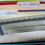 School Memory Box with Free Printables