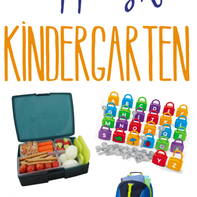 Prepping for Kindergarten