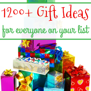1200+ Gift Ideas for Everyone on Your List