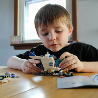 How LEGO Play Builds Confidence