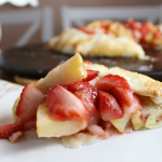 Strawberry-Apple Galette