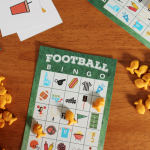 Free Printable Football Bingo Game
