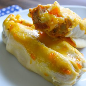 Chicks in a Blanket with Apricot Sauce