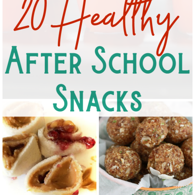 20 After School Snacks