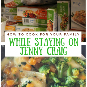 How to Cook for your Family While Staying on Jenny Craig