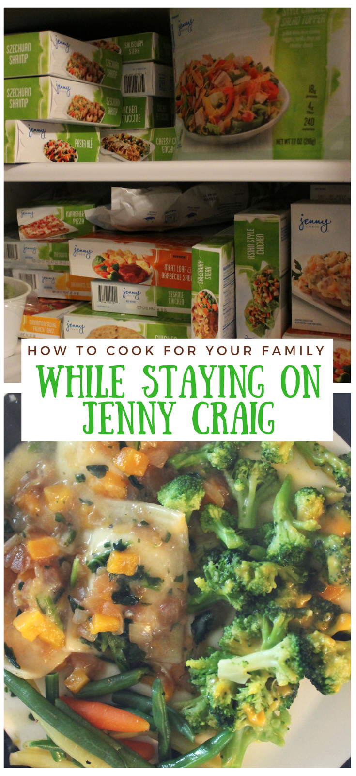 Cooking meals for your family that you don't eat sounds hard, right? Here's how I cook for my family and still stay on plan with Jenny Craig!