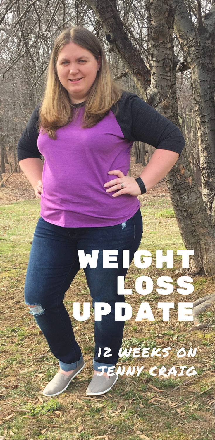 After 12 weeks on Jenny Craig, I can definitely see a difference! Check out this 12 week weight loss update.