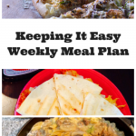 Easy Weekly Meal Plan #17