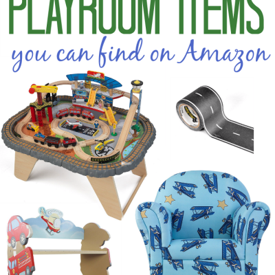 The Coolest Transportation Items for a Play Room on Amazon