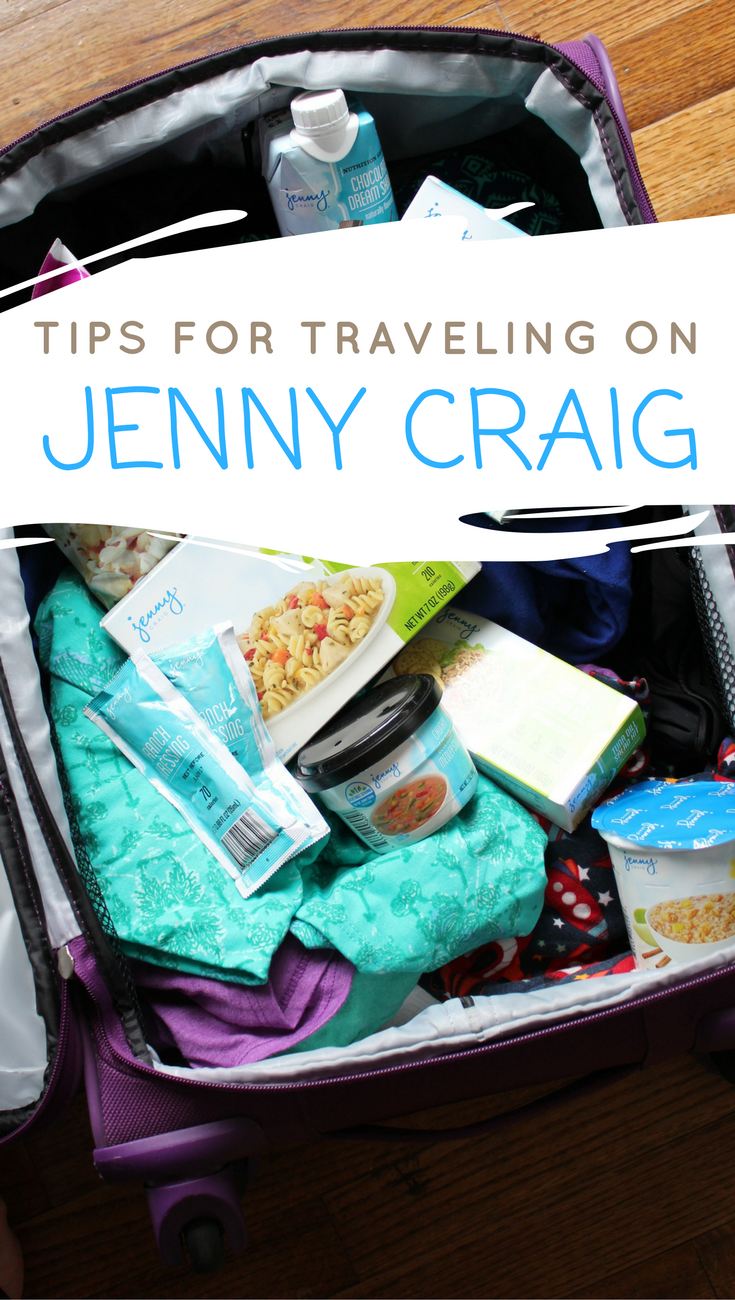Traveling while on Jenny Craig is definitely do-able! Read these tips to help make your trip successful while staying on your weight loss journey!