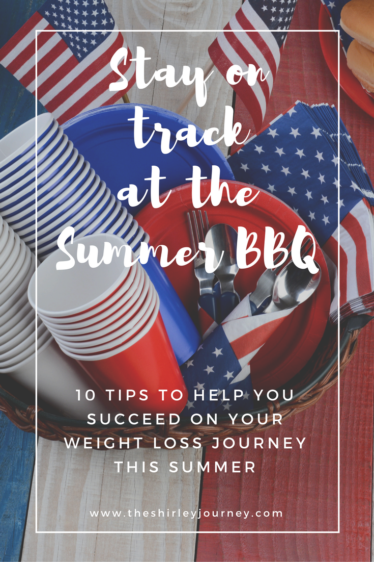 Read these 10 Tips for staying on track with your weight loss before heading to that Summer BBQ!