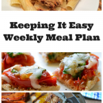 Easy Weekly Meal Plan #23