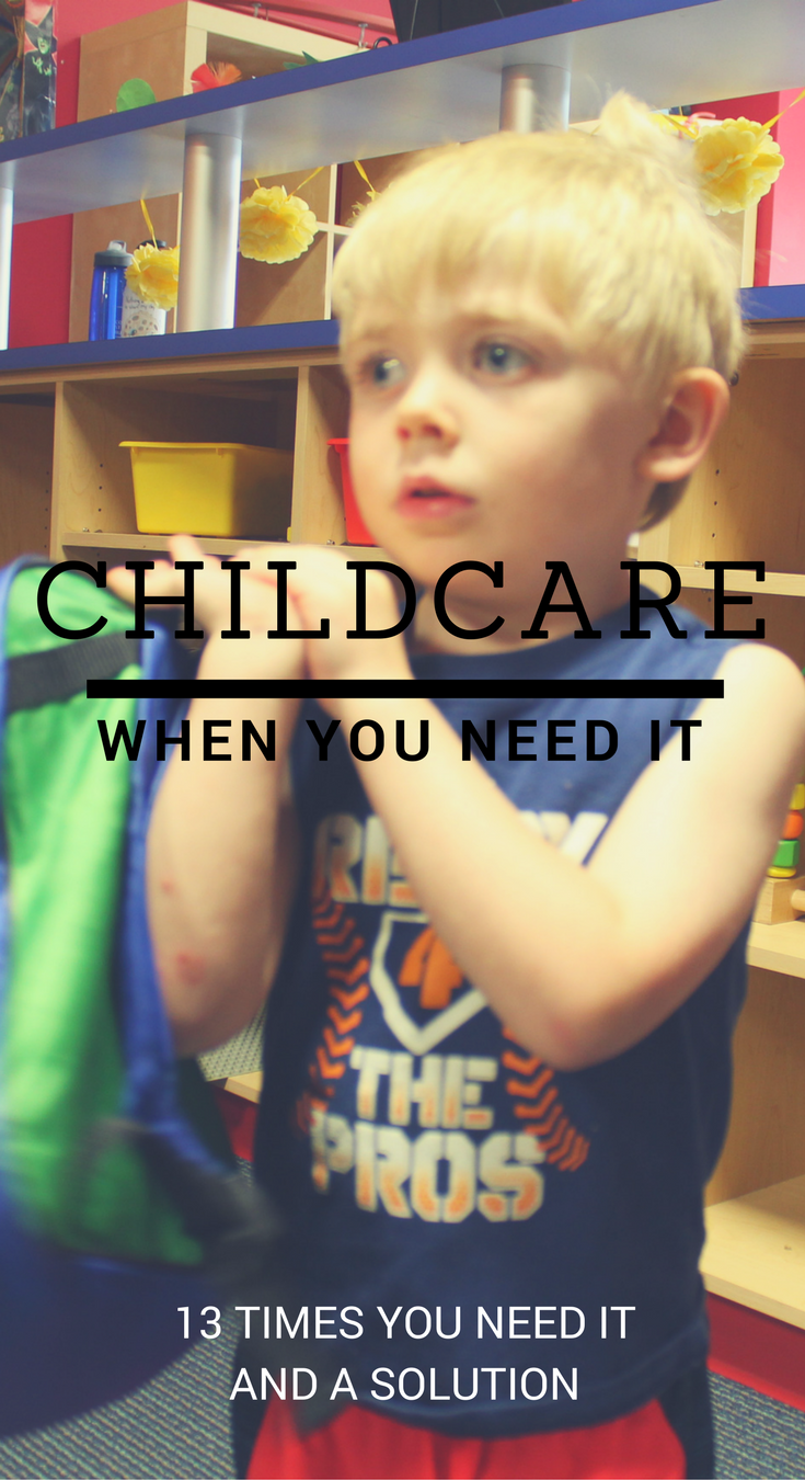 Everyone needs childcare for various reasons. We found a solution so you can have childcare exactly when you need it!