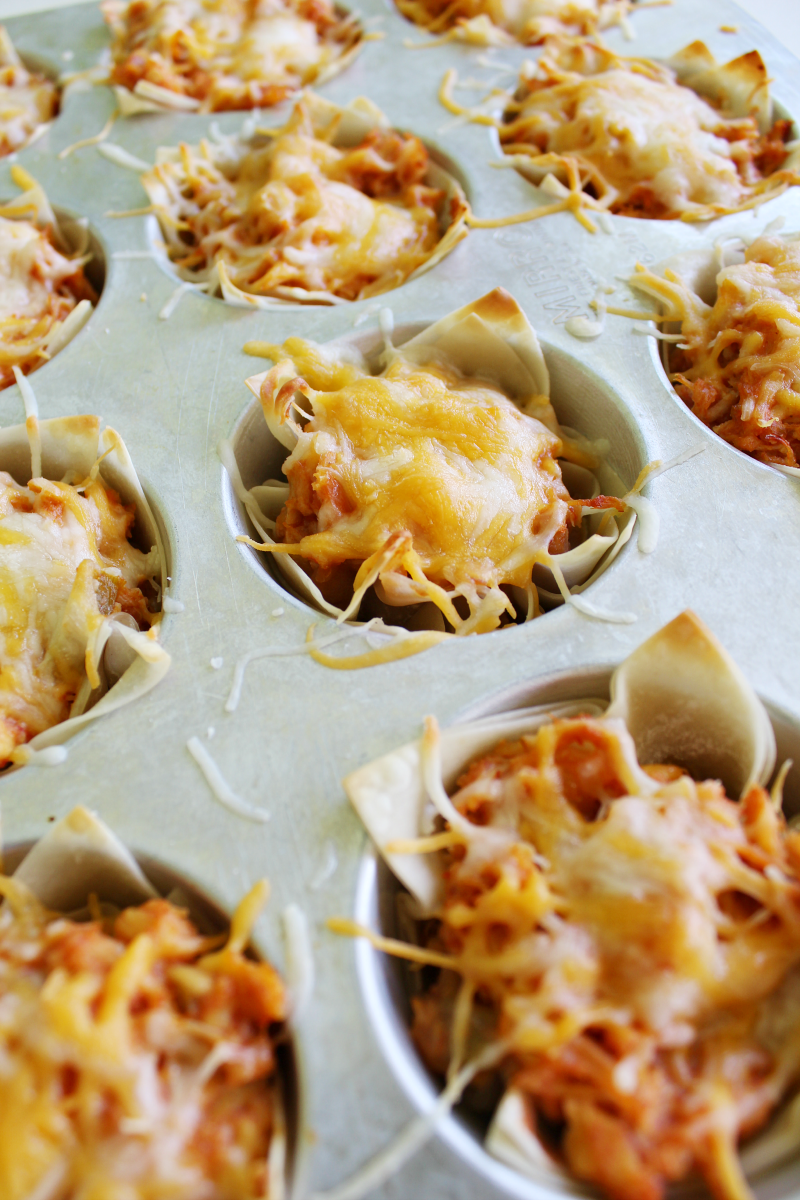 Chicken Taco Cups - The Shirley Journey