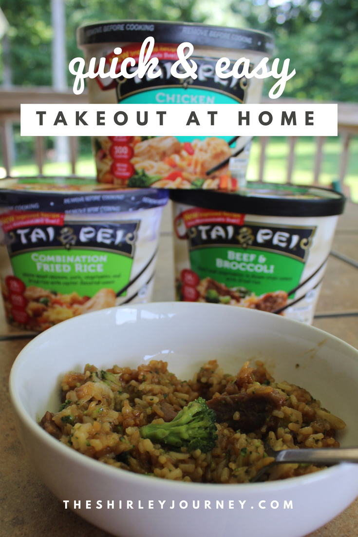 You can do takeout at home for a quick and easy dinner or lunch solution for busy families!
