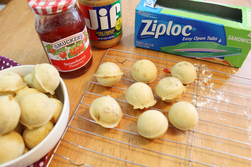 Peanut butter and jelly pancake poppers the shirley journey the idea of snacking is pretty much always going through someones mind and these pancake poppers are the perfect little bites that make you feel like ccuart Images