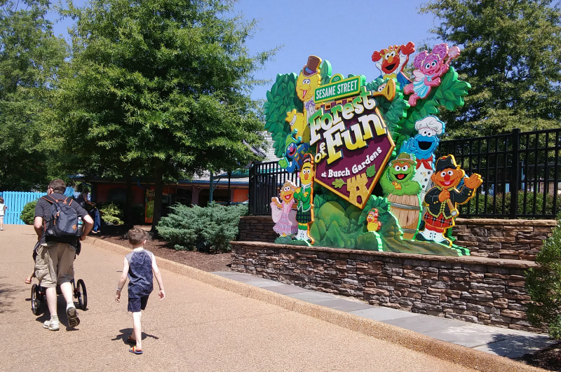 What To Do With Little Kids At Busch Gardens Williamsburg And Water Country Usa The Shirley