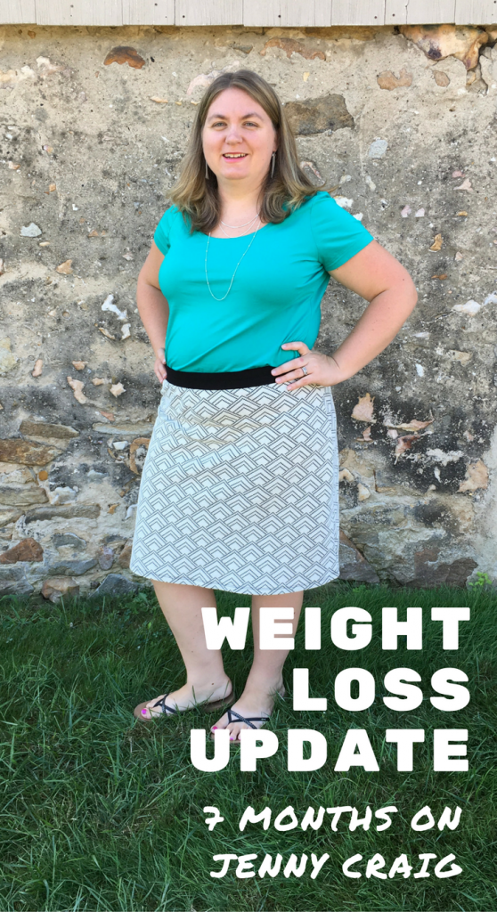 Weight Loss Update: 7 Months on Jenny Craig - The Shirley ...