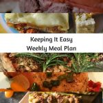 Easy Weekly Meal Plan #33