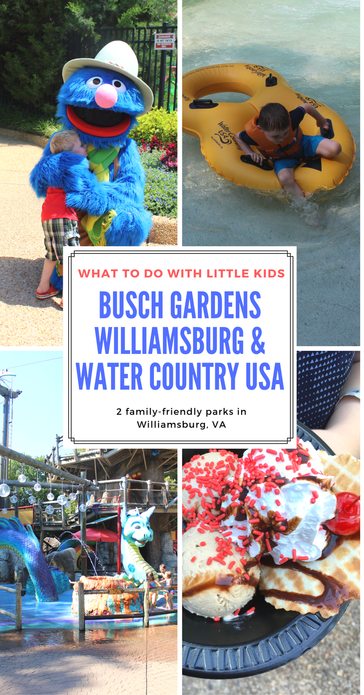 Take this mom's advice on what to see, do, and eat with little kids at Busch Gardens Williamsburg and Water Country USA.