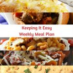 Easy Weekly Meal Plan #39