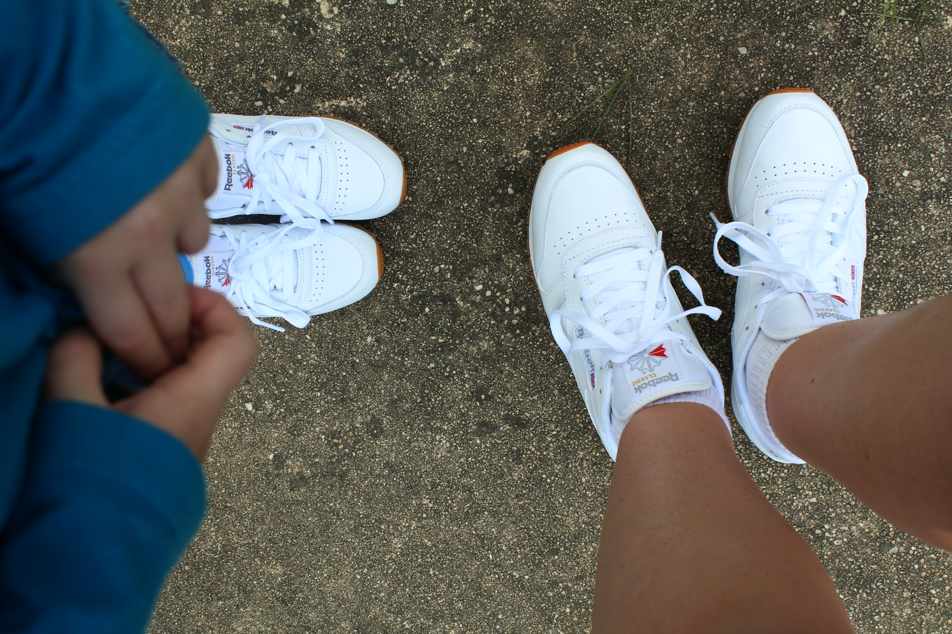 matching Reebok classic shoes - The Shirley Journey