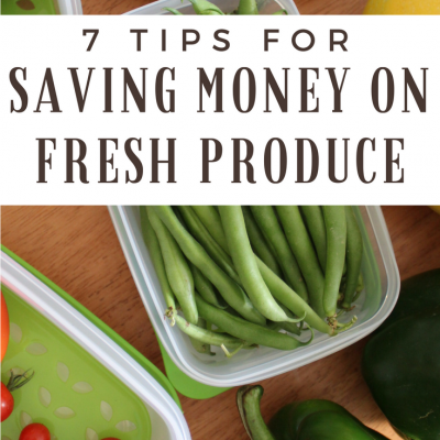 Tips for Saving Money on Fresh Produce