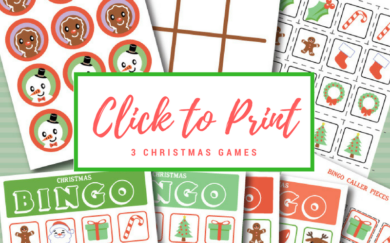 photo about Free Printable Christmas Games for Adults named Printable Xmas Video games for Children - The Shirley Vacation