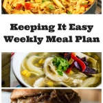 Easy Weekly Meal Plan #44