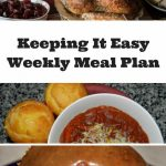 Easy Weekly Meal Plan #46