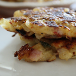 Ham & Cheese Potato Pancakes