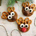Gingersnap Reindeer Cookies