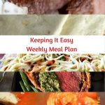 Easy Weekly Meal Plan #51