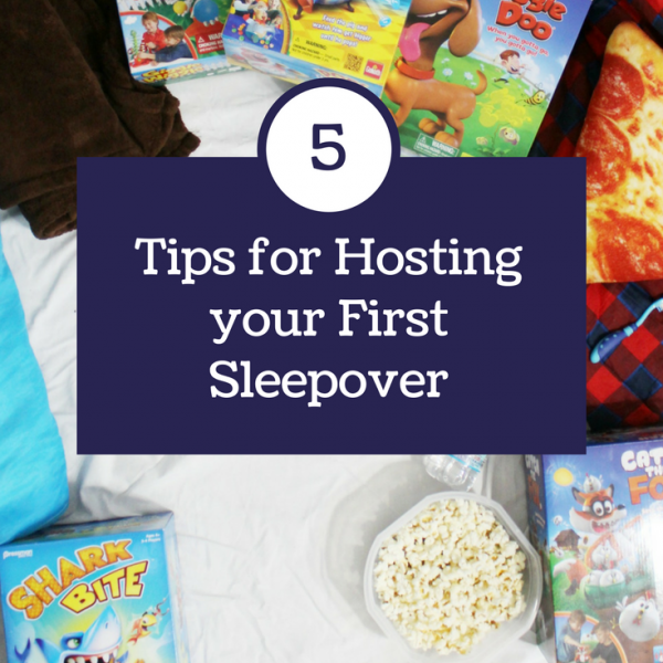 Tips for Hosting Your First Sleepover