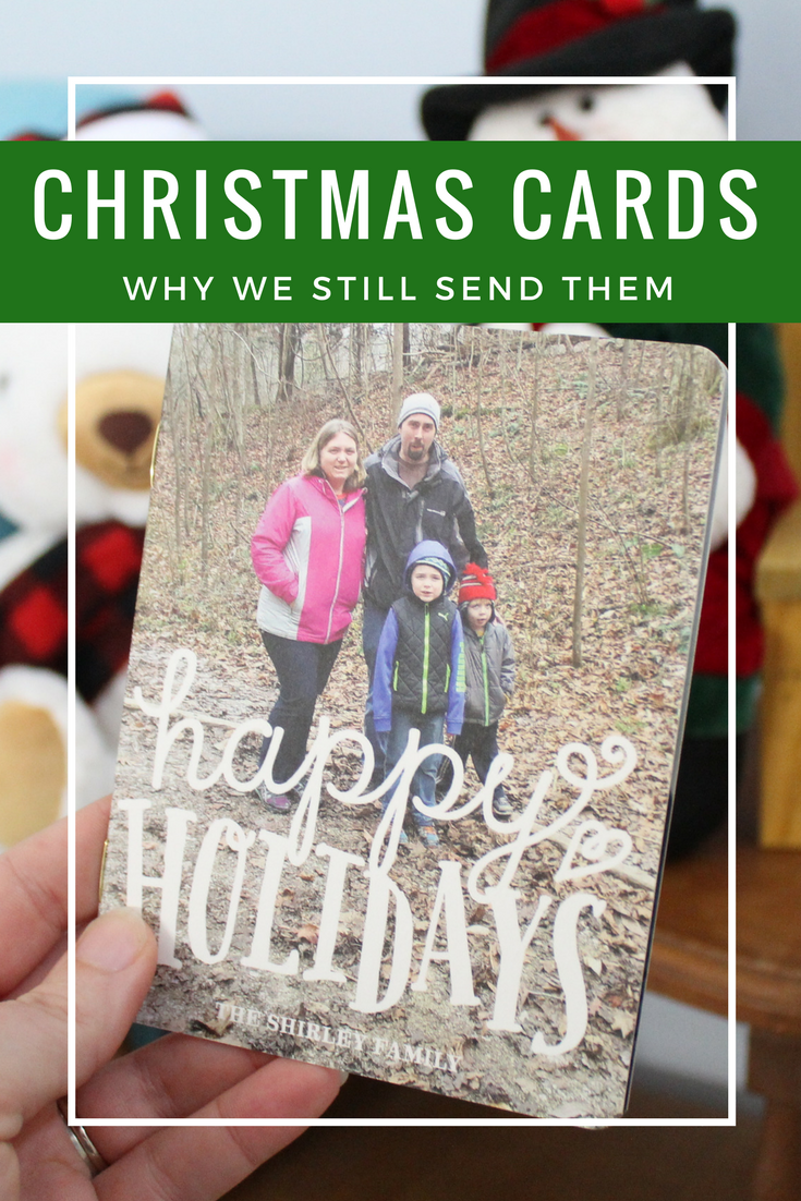 Why We Still Send Out Christmas Cards - The Shirley Journey