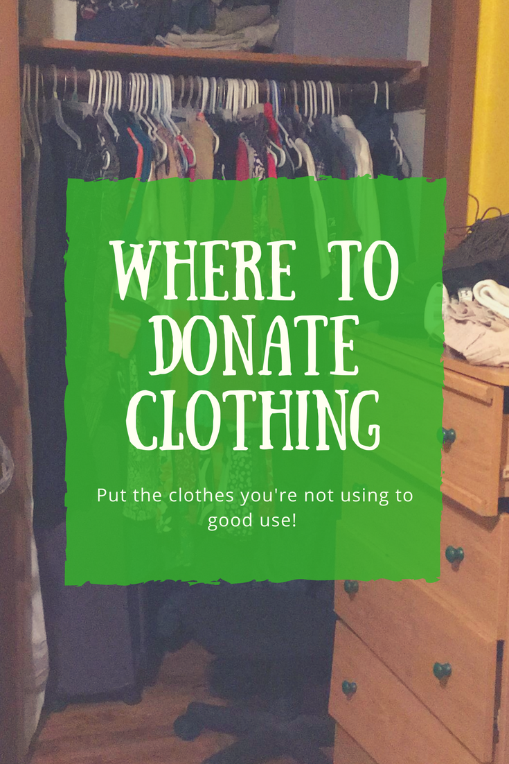 Where To Donate Clothing The Shirley Journey
