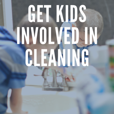 How to Get Your Kids Involved in Cleaning Around the House
