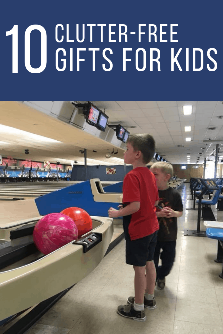 10 Clutter Free Gifts for Kids - The