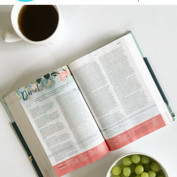 Tips for Getting Bible Study in Before the Kids Wake Up